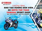 Yamaha Việt Nam triển khai đợt tập huấn hướng dẫn viên xe mô tô thể thao
