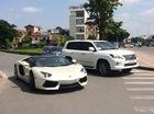 Lamborghini Aventador mui trần thứ 2 ở Việt Nam xuất hiện tại Hà Nội