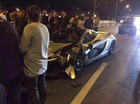 """""""Siêu phẩm"""" triệu đô McLaren P1 gặp nạn tại Trung Quốc"""