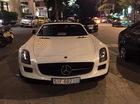 Mercedes SLS AMG GT mui trần hàng độc của đại gia Trung Nguyên dạo phố biển Nha Trang