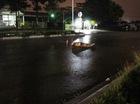 Thi thể nam thanh niên nằm giữa đường, nghi bị xe tông chết
