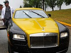 Xe siêu sang Rolls-Royce Wraith khoác áo dải ngân hà