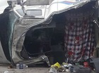 Hà Nội: Thùng container lật xuống đường gây tai nạn khiến 2 người chết, 2 người bị thương