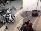 Hà Nội: Range Rover gây tai nạn kinh hoàng, 1 người bị thương nặng