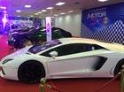 """""""Phàt thèm"""" với dàn siêu xe xuất hiện trong triển lãm ô tô tại Lào"""