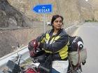 Nữ biker 21 tuổi lái mô tô độc hành 800 km để thực hiện ước nguyện của cha
