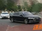 Bắt gặp sedan hạng sang cỡ lớn Audi A8L 2018 chạy ngoài đường phố