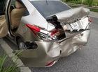 Toyota Vios biến dạng sau tai nạn, cư dân mạng ngao ngán
