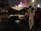 Bắc Ninh: Húc đuôi xe tải, SUV hạng sang Range Rover nát đầu