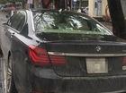 """Xe sang BMW 760Li đỗ qua đêm bị """"vặt gương"""" tại Hà Nội"""