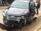 Lại thêm Toyota Fortuner 2017 bị tai nạn tại Việt Nam