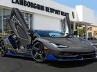 Cận cảnh siêu phẩm Lamborghini Centenario đầu tiên đặt chân đến Mỹ