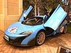 Bắt gặp siêu xe McLaren 675LT của fan cuồng Doreamon