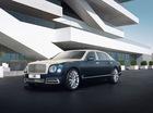 Bentley Mulsanne phiên bản vàng và bạc trình làng