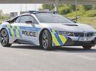 Chiêm ngưỡng xe tuần tra BMW i8 không phải của cảnh sát Dubai