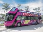 Xe buýt 2 tầng chính thức được bàn giao tại Đà Nẵng