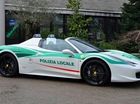 Ferrari 458 Spider từng thuộc sở hữu của mafia được dùng làm xe tuyên truyền