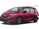 Hatchback cỡ nhỏ Honda Jazz 2017 lộ diện sớm