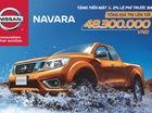 Khuyến mại đặc biệt dành cho xe Navara EL và Navara VL trong tháng 8