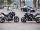 Ngắm nhìn cận cảnh Kawasaki Z900 tại Hà Nội