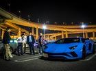 Vẻ đẹp siêu xe Lamborghini Aventador S LP740-4 màu xanh Lemans tại Nhật Bản