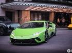 Lamborghini Huracan Performante đầu tiên lăn bánh tại London, nổi bật màu áo xanh cốm