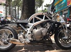 Siêu mô tô tiền tỷ Ariel Ace tái xuất trên phố Sài thành