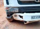 Bò tót 800 kg lao vào ôtô chết vì phản ứng với còi xe
