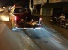 Bị nhóm côn đồ truy đuổi, thanh niên băng qua đường gặp tai nạn