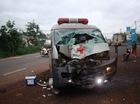 Xe cấp cứu gây tai nạn, tài xế bỏ bệnh nhân rời khỏi hiện trường