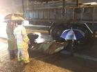 TP.HCM: Trượt ngã trên đường, nữ sinh bị xe tải cán tử vong trong cơn mưa lớn