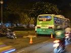 Xe buýt cán tử vong người đàn ông trong đêm ở Sài Gòn