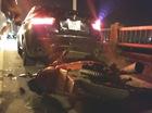 Xe máy húc trúng đuôi BMW, nam thanh niên bất tỉnh