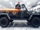 """Biến """"ông vua SUV"""" Mercedes-Benz G500 4x4² thành phiên bản mui trần"""