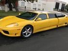 Siêu xe Ferrari độ limousine 7 chỗ siêu dài
