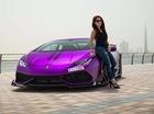 """Chiêm ngưỡng chiếc Lamborghini Huracan độ """"khủng"""" của nữ doanh nhân xinh đẹp"""