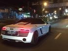 Audi R8 V10 Spyder độc nhất Việt Nam của đại gia Trung Nguyên bị bắt gặp tại Bình Phước