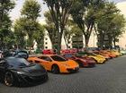Hơn 30 siêu xe của đại gia Indonesia vây kín khu vực đậu xe tại Jakarta