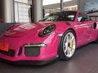 Siêu xe Porsche 911 GT3 RS trở nên nữ tính với bộ áo màu hồng