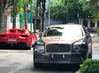 """Nghi vấn Bentley Mulsanne EWB 2017 đầu tiên cập bến Việt Nam """"chung nhà"""" Ferrari 488 Spider"""