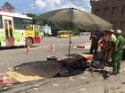 Hà Nội: Xe máy va chạm với xe tải, 3 người tử vong tại chỗ