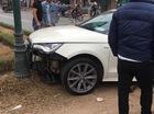 Hà Nội: Tai nạn liên hoàn trên phố, Audi A1 nát đầu