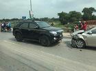 Bắc Ninh: Toyota Fortuner vượt ẩu gây tai nạn kinh hoàng cho Toyota Vios