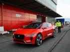 """Xem cảnh """"báo đỏ"""" Jaguar I-Pace được chuyển vào triển lãm Geneva 2017"""