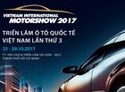 9 hãng xe hơi và 3 hãng xe máy sẽ tham gia triển lãm VIMS 2017