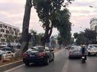 """Hà Nội: Xế hộp biển xanh """"ngang nhiên"""" chiếm làn xe buýt nhanh BRT"""