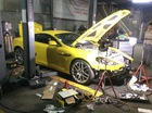 Aston Martin DB9 từng được đồn là quà sinh nhật của hot girl Andrea Aybar bị tháo tung