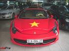 Ferrari 458 Italia dán decal ủng hộ U23 Việt Nam trong trận chung kết