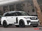 SUV hạng sang Range Rover độ bodykit hầm hố trên phố Hà Nội