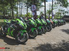 Hàng trăm mô tô phân khối lớn tham gia đại hội tại Đồng Nai